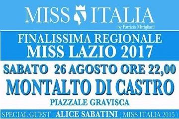 Finalissima regionale Miss Lazio