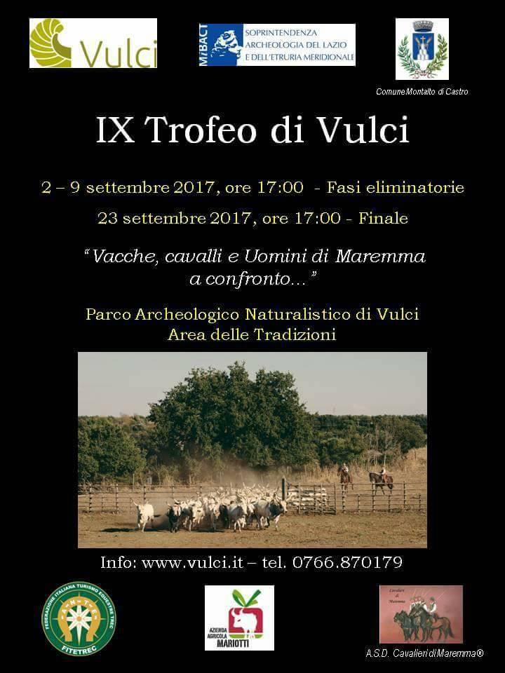 IX Trofeo di Vulci